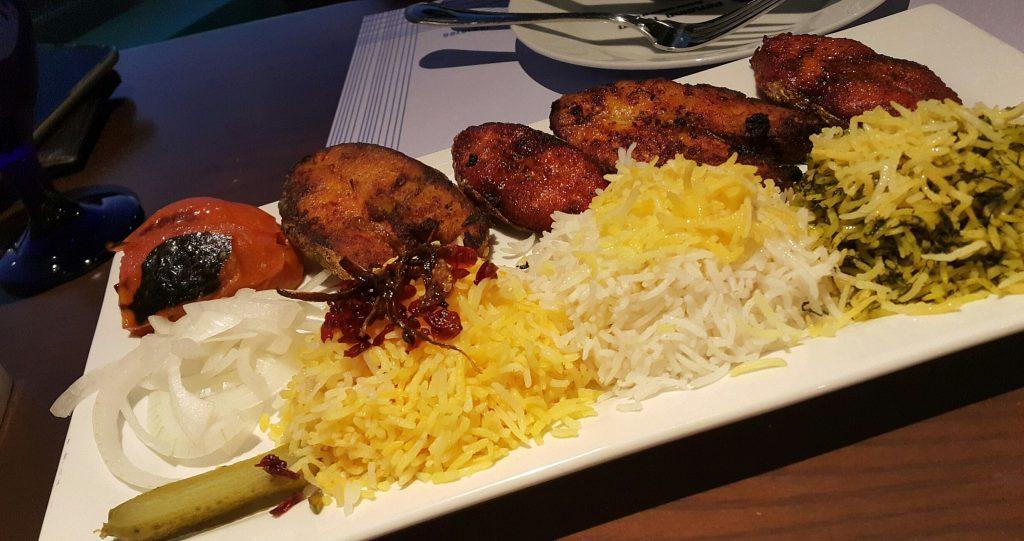 Persian Room Amwaj Menu